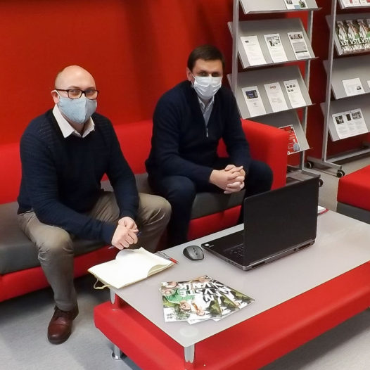 První virtuální mobilita v rámci Erasmus+ na VŠTE se uskutečnila s polskými partnery
