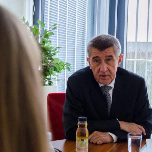 Rozhovor s Andrejem Babišem
