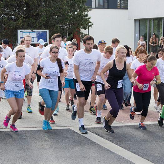 Nadační běh podpořil děti z boršovského domova