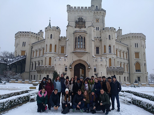 Na VŠTE nastoupilo přes 60 nových studentů ze zahraničí