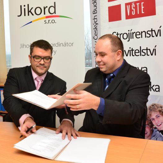 VŠTE a společnost JIKORD vytvoří společné pracoviště