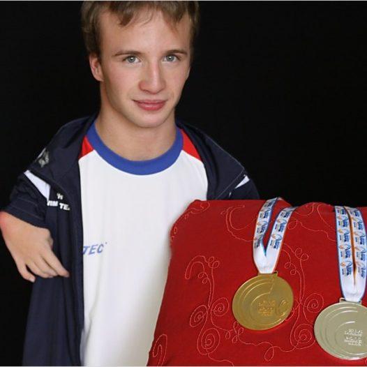Projekt VŠTE bez bariér mi umožnil dál studovat, říká Arnošt Petráček, úspěšný český paralympionik