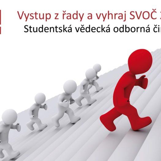 Vyhlášení soutěže SVOČ 2015