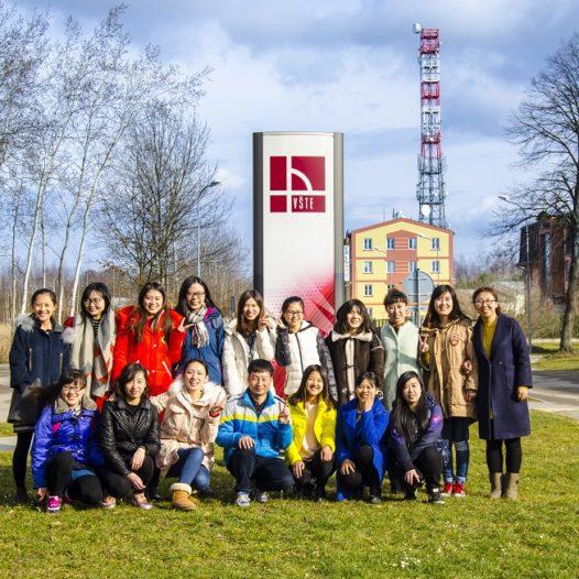 Na VŠTE přijely dvě desítky čínských studentů