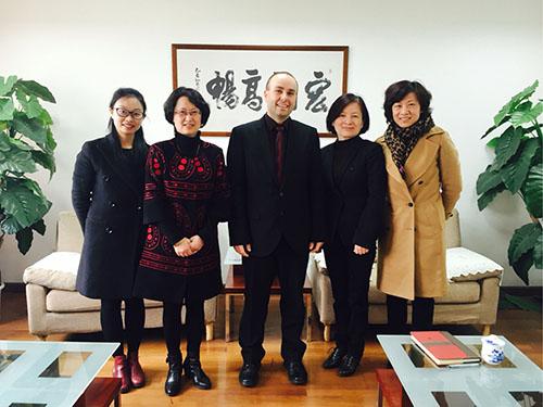 Rektor se zúčastnil jednání v Šanghaji