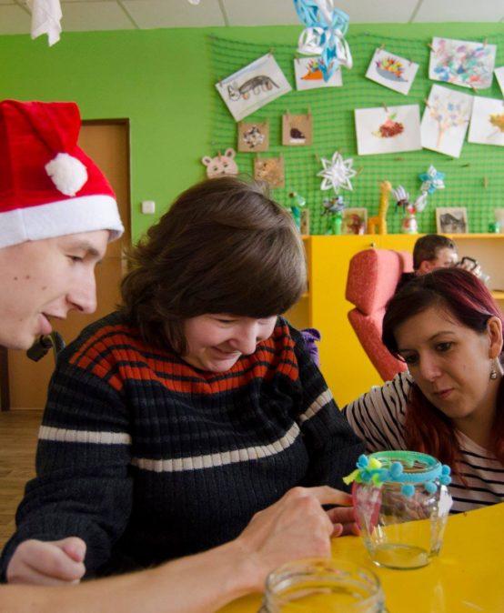 Studenti naší školy pomáhali dětem v Centrum Bazalka