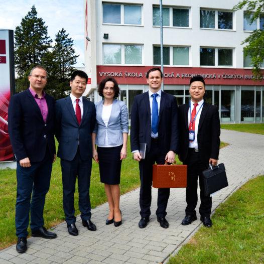 Návštěva čínské delegace