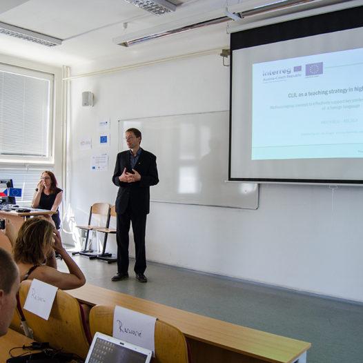 Na VŠTE proběhla závěrečná konference k projektu CLIL jako výuková strategie na vysoké škole.
