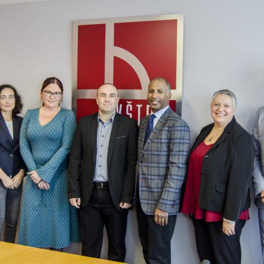 VŠTE navštívila delegace z Mohawk College v Kanadě