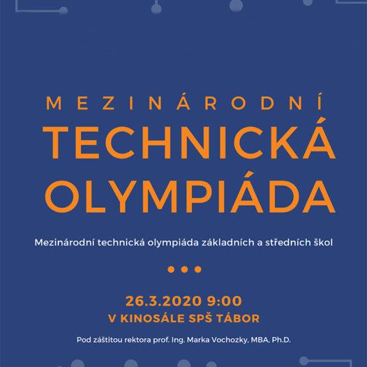 """Propozice soutěže """"Mezinárodní technická olympiáda"""""""