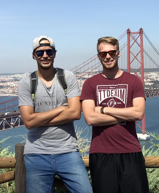 Martin Dědič a Aleš Kaňkovský: Návštěva Portugalska byla obohacující. Skvělá zkušenost!