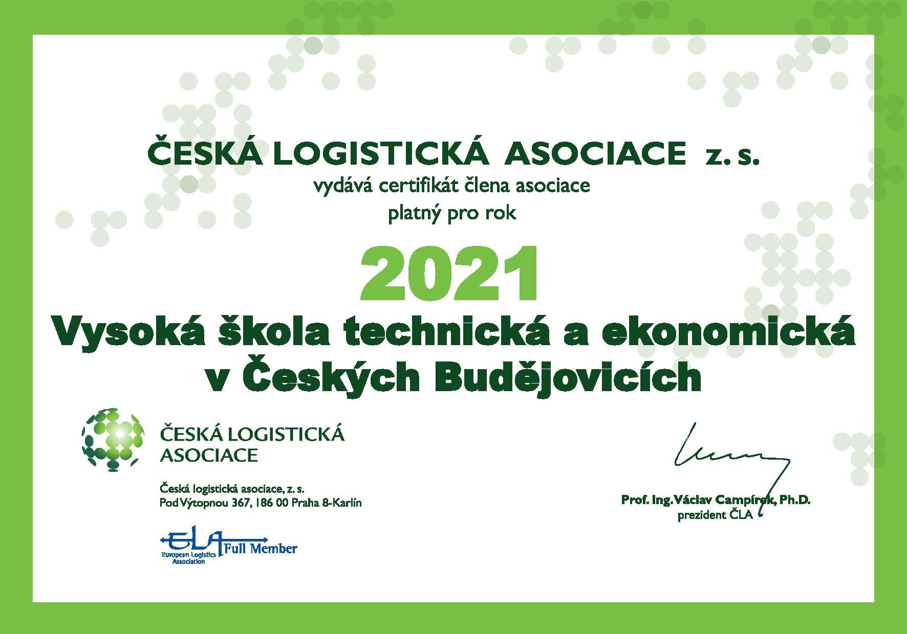Česká logistická asociace o. s.