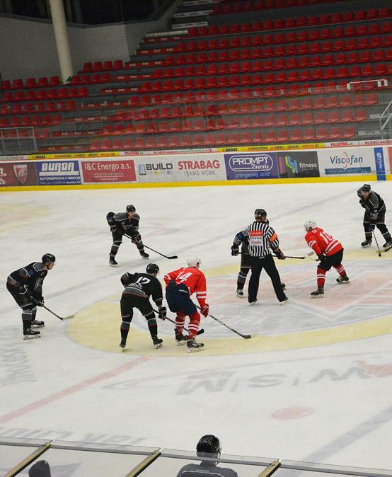 Začíná univerzitní hokejová liga. Hráči VŠTE Black Dogs míří vysoko