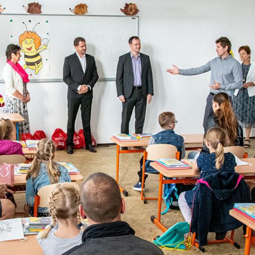 Na VŠTE otevřeli základní školu. Zatím nejmenší ve městě